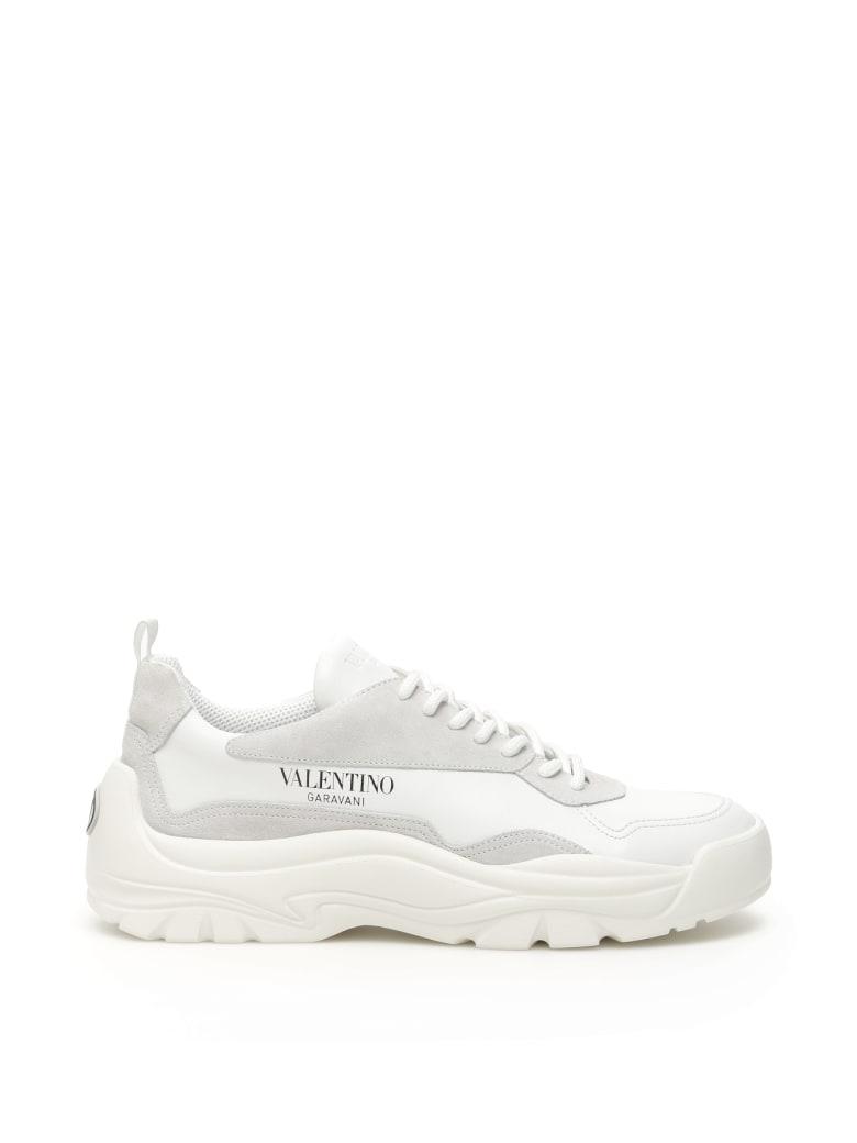 Valentino Garavani Gumboy Sneakers - BIANCO GHIACCIO GHIACCIO BIANCO (White)