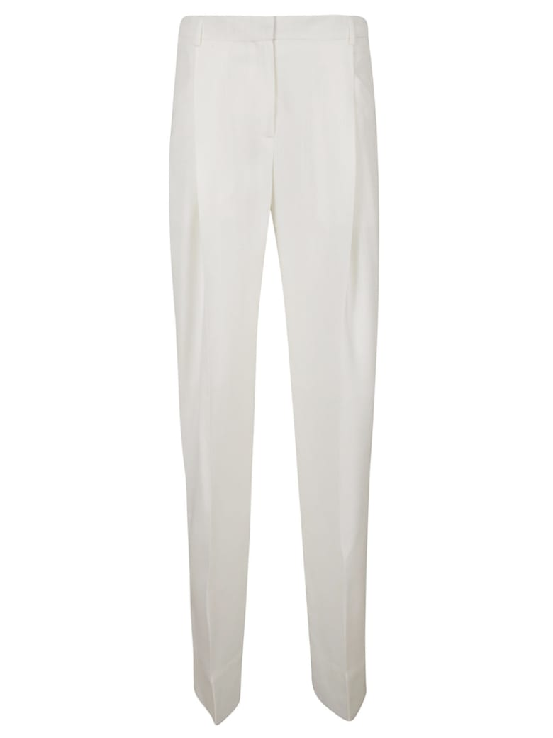 Jacquemus Long Straight Trousers - White