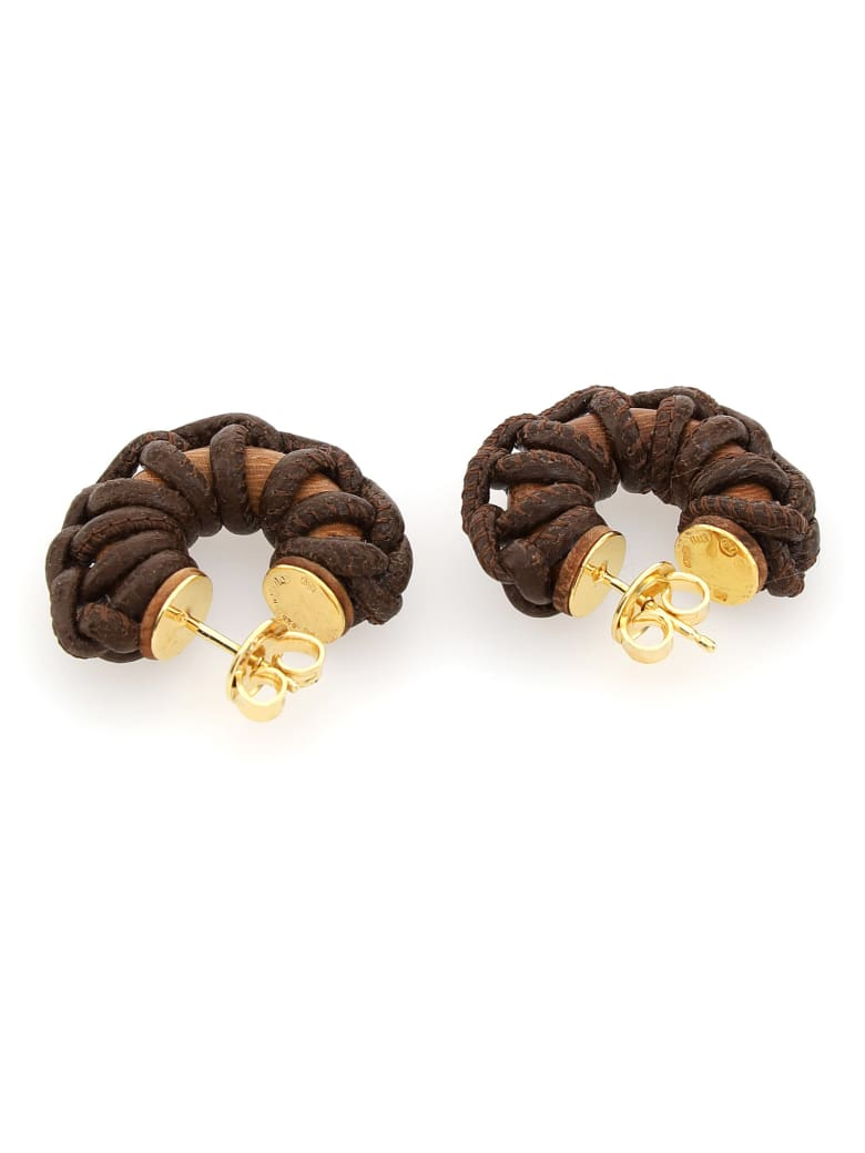 Bottega Veneta Earrings - Bark