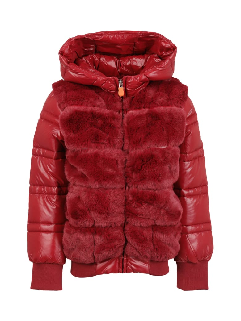 Save the Duck Jacket -  Rosso