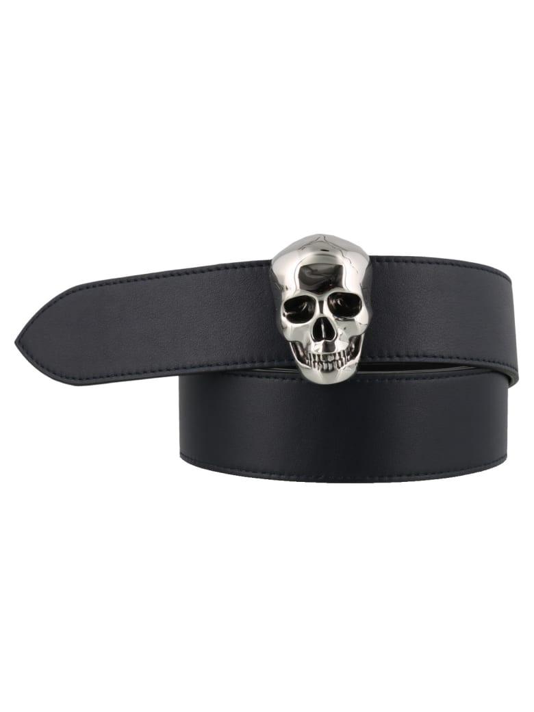 Alexander McQueen Skull Belt - Ink
