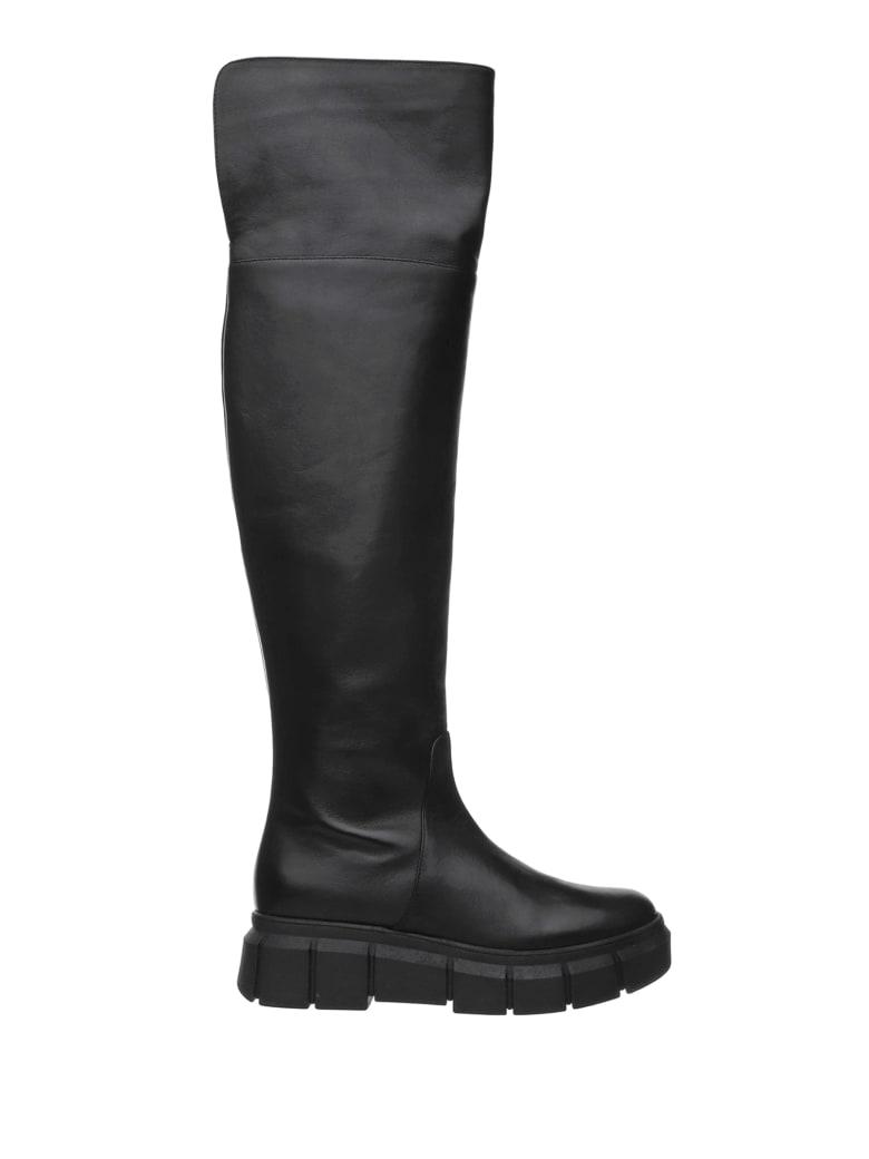 Ninalilou Ninalilou Black Snow Boot - NERO