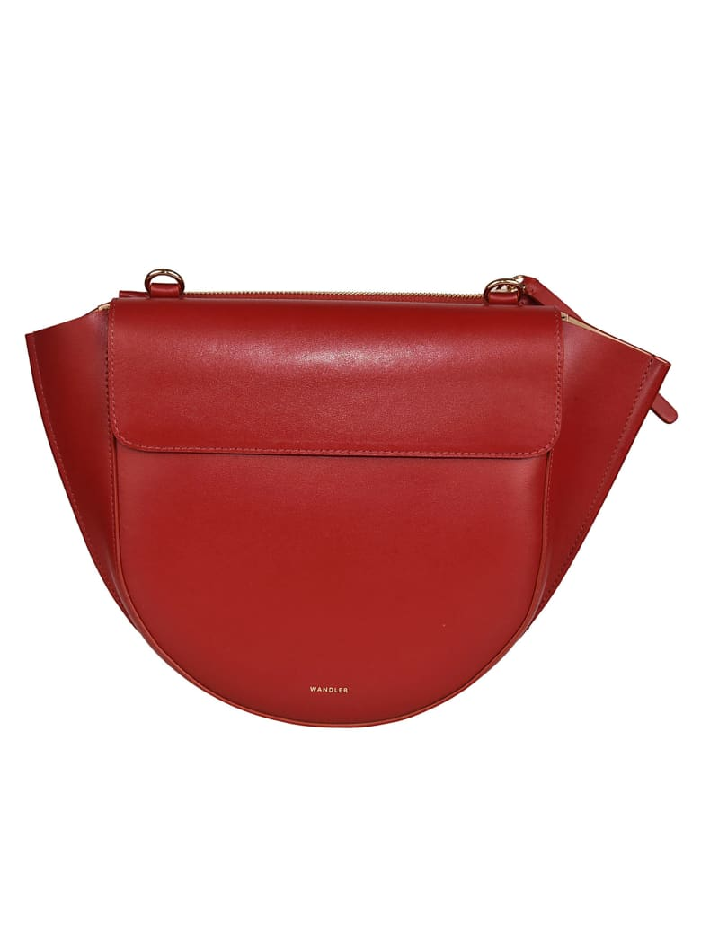 Wandler Hortensia Medium Shoulder Bag - Mogano