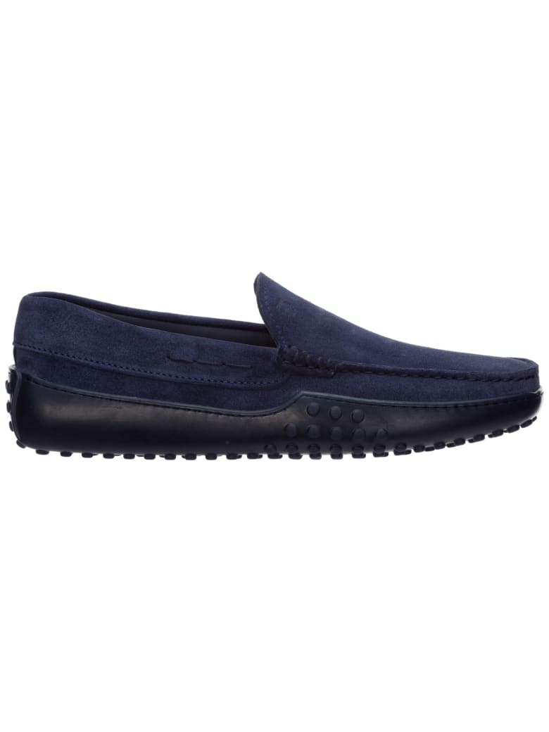 Tod's Gommino Moccasins - blue