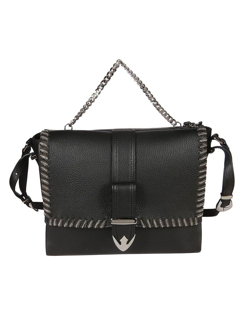 Orciani Cosmo Shoulder Bag - Black
