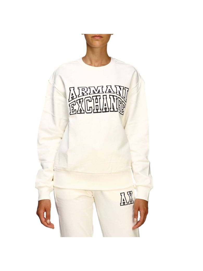 Armani Collezioni Armani Exchange Sweater Sweater Women Armani Exchange - white