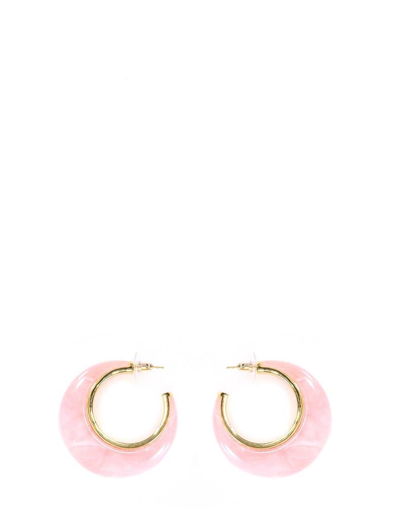 Cult Gaia Mona Hoop Earrings - Pink
