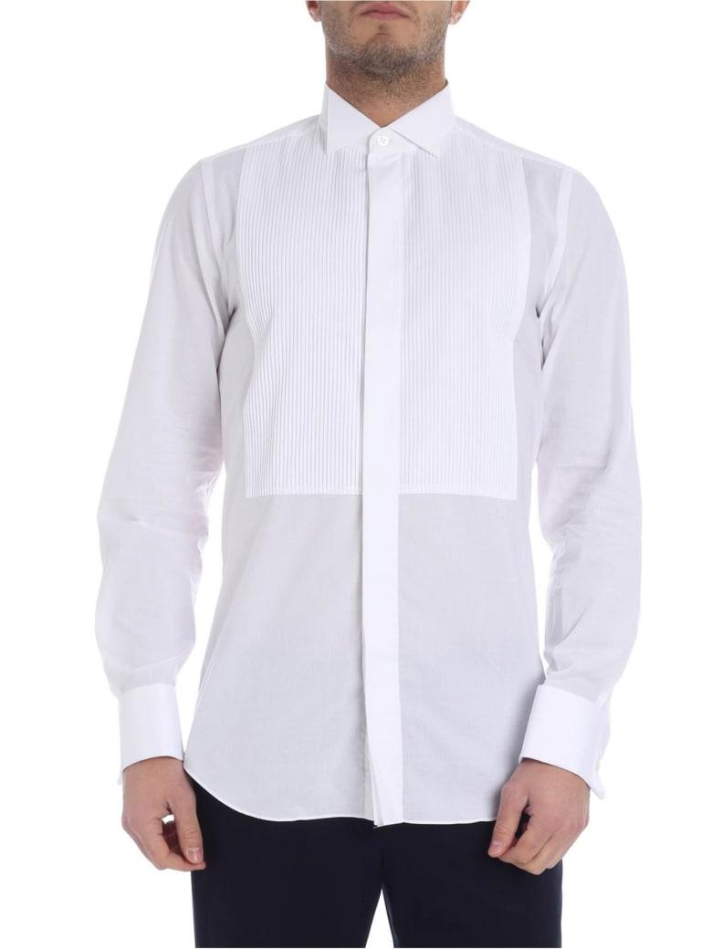 Finamore Finamorr Diplomatic Shirt - White