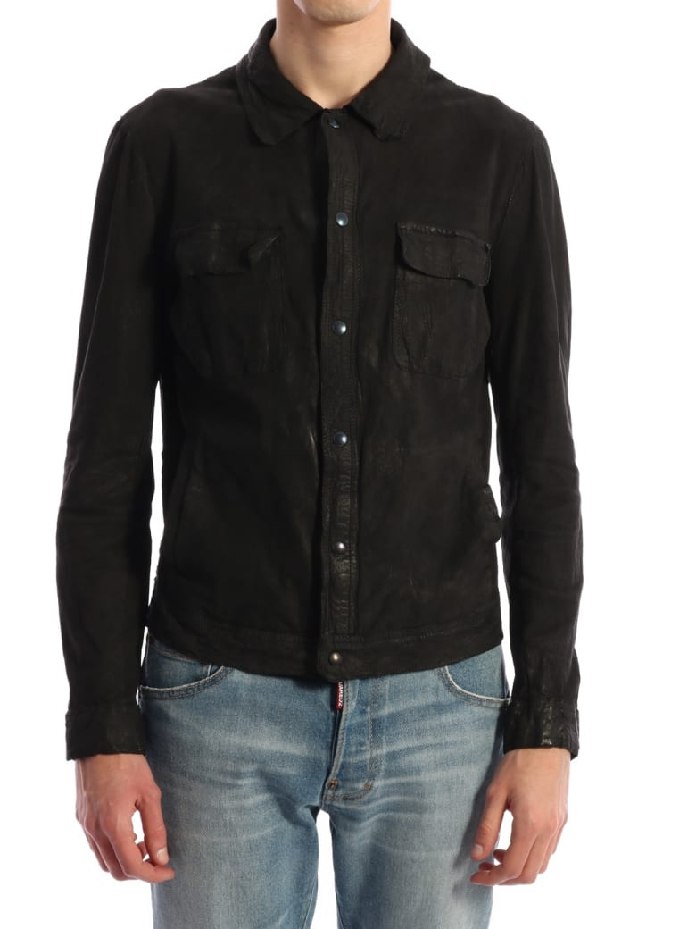 Salvatore Santoro Suede Jacket Black - Black