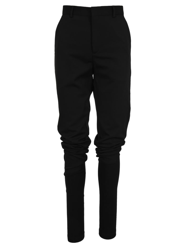 Y/Project Y/project Slim Tailored Trousers - BLACK