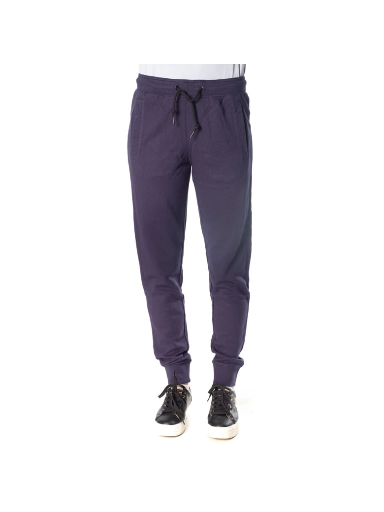 Sun 68 Sun68 Cotton And Viscose Jogging Trouser - NAVY BLUE