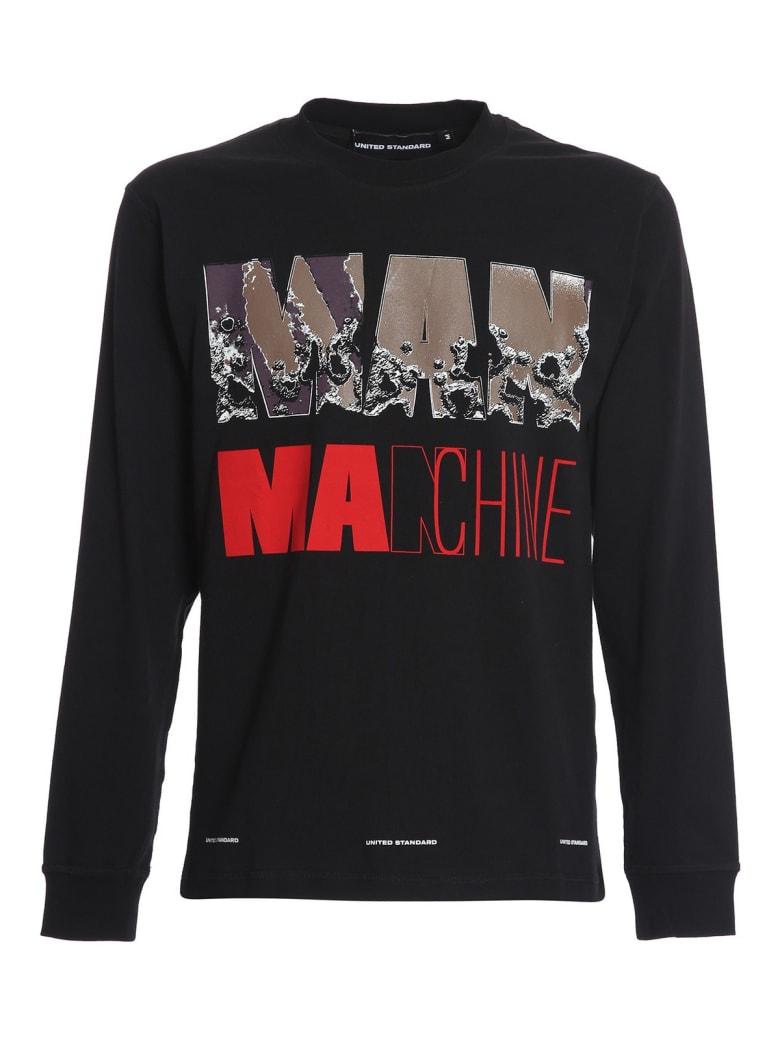 United Standard Manchine Ls Shirt - Blk Black