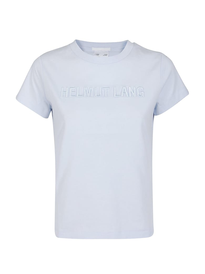 Helmut Lang Short Sleeve T-Shirt - Azzurro
