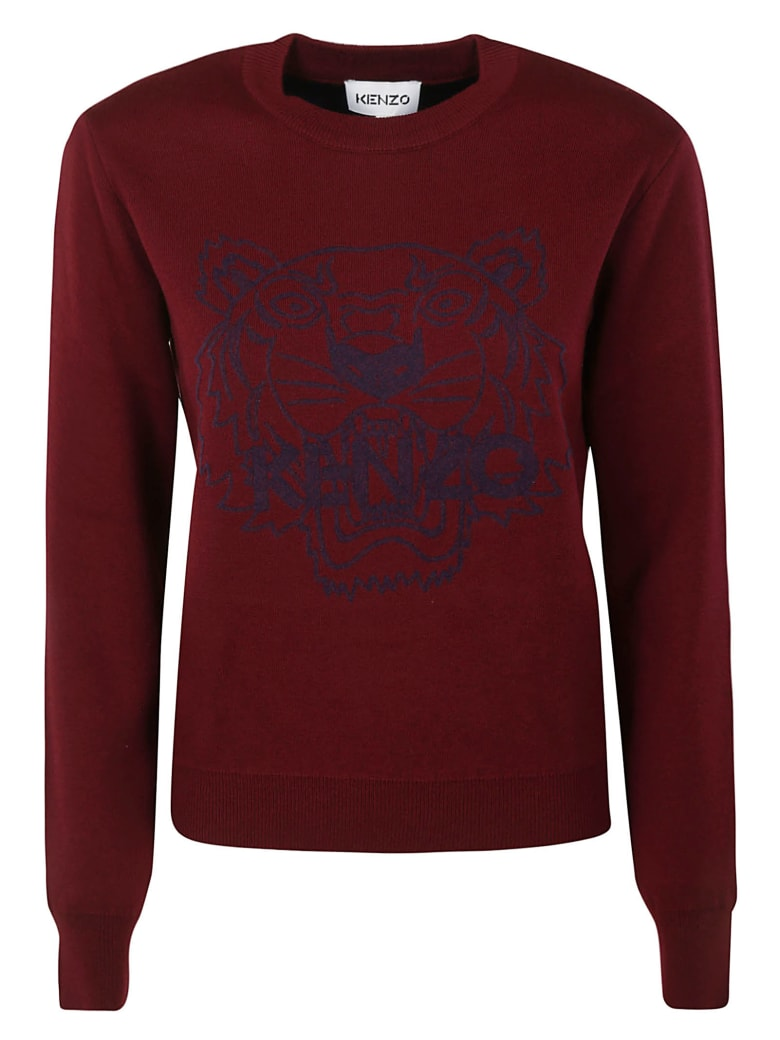 Kenzo Tiger Jumper - Rosso