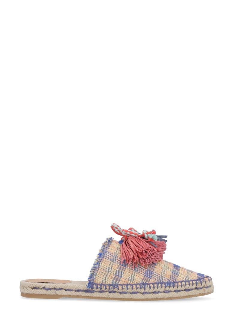 Castañer Rafaela Multicolor Fabric Slippers - Multicolor