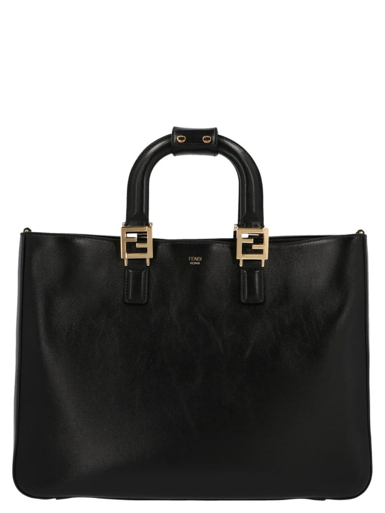 Fendi 'ff Tote' Bag - Black