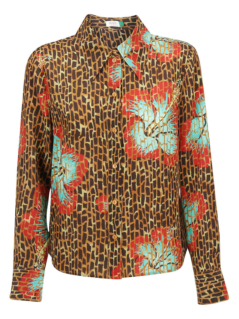 RIXO Shirt - Camel mint