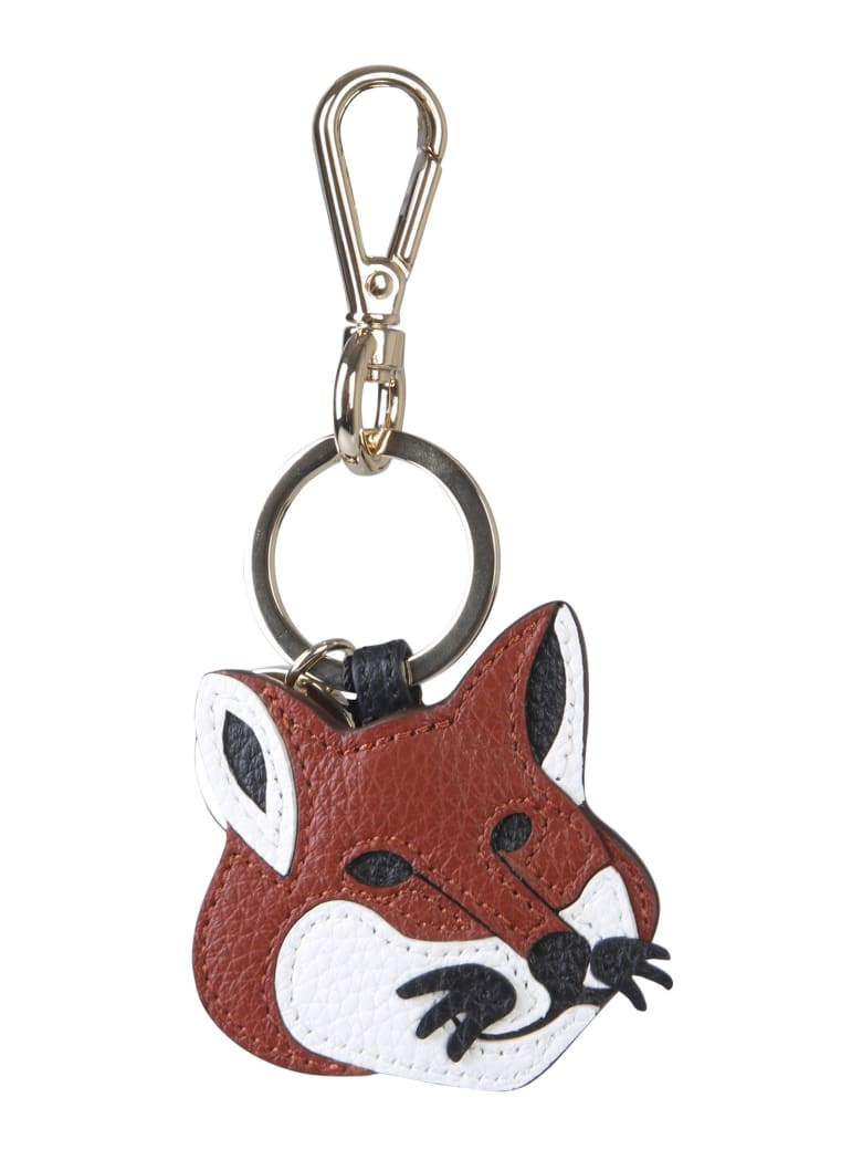 Maison Kitsuné Fox Key Holder - MARRONE