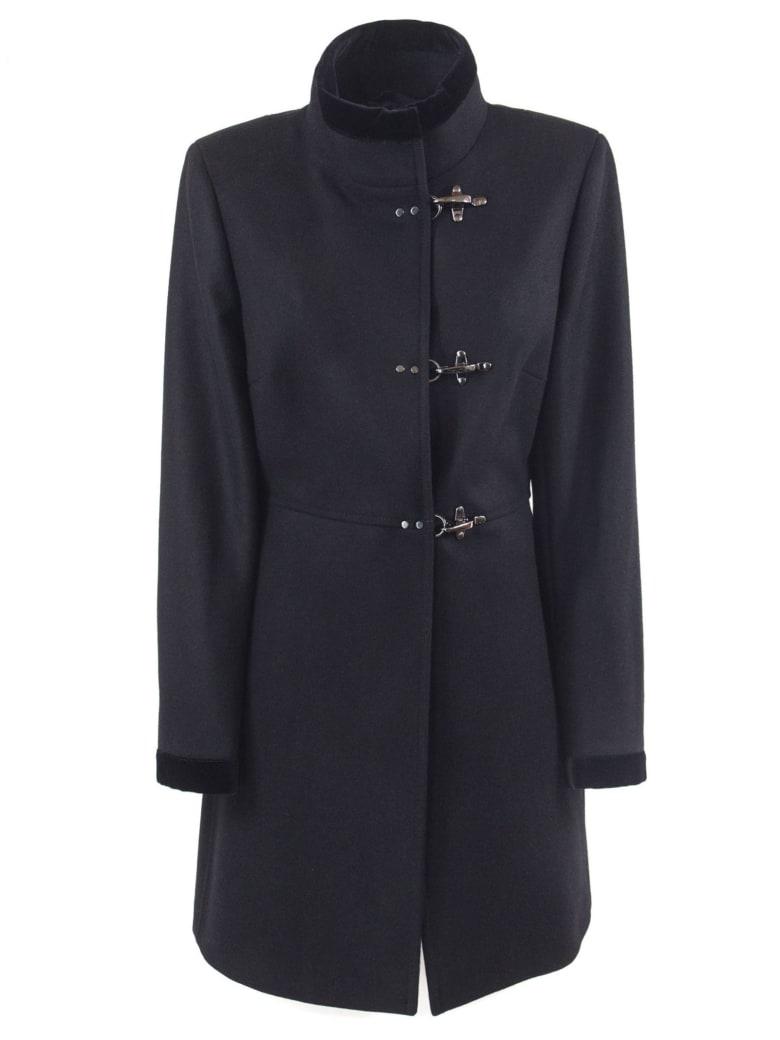 Fay Black Virgin Wool-cashmere Jacket - Nero