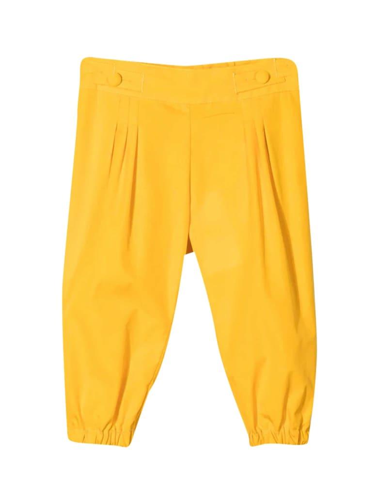 Fendi Yellow Trousers - Giallo