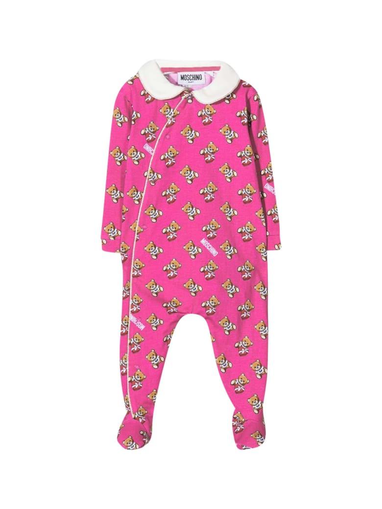 Moschino Fuchsia Newborn Pajamas - Fucsia