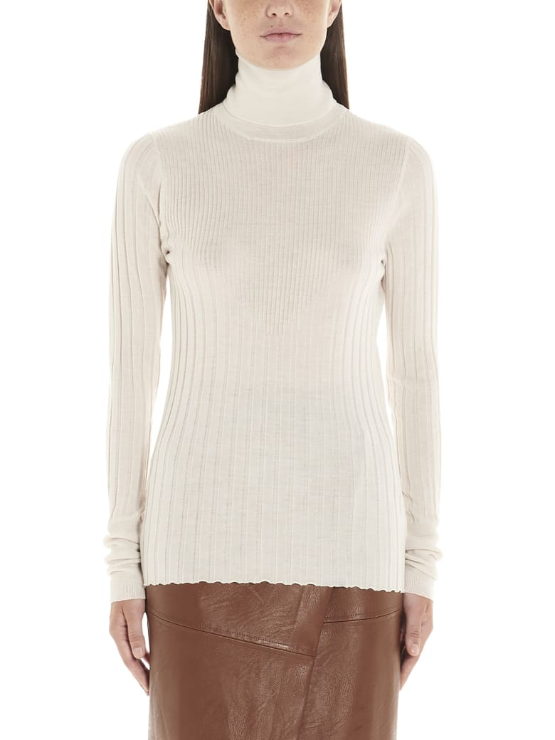 (nude) Sweater - White