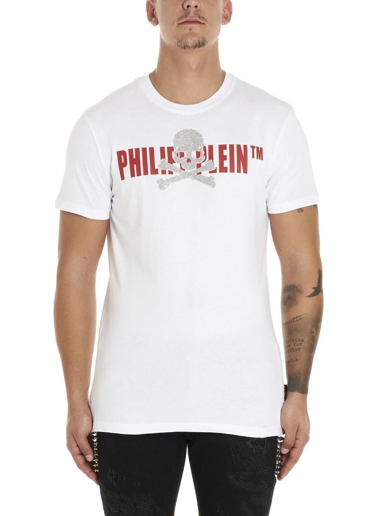 Philipp Plein 'sull & Logo' T-shirt - White