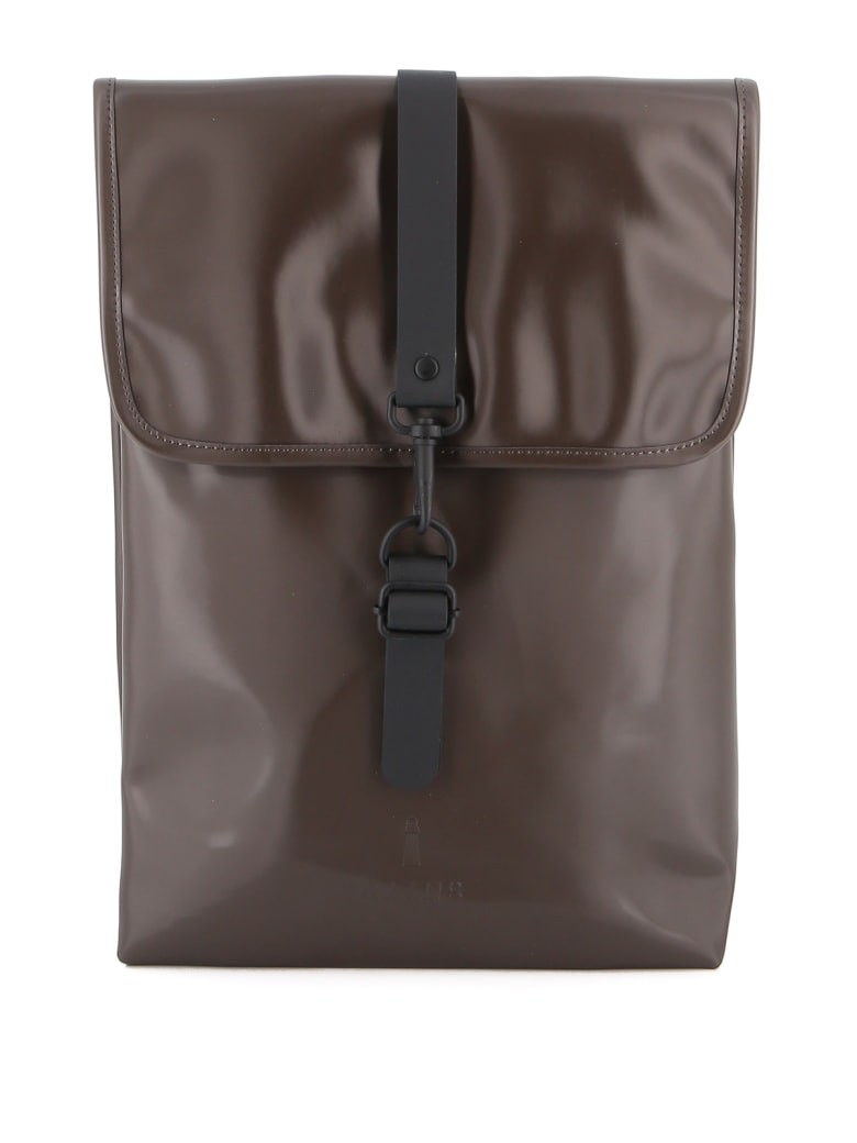 RAINS Rucksack - Shining Brown