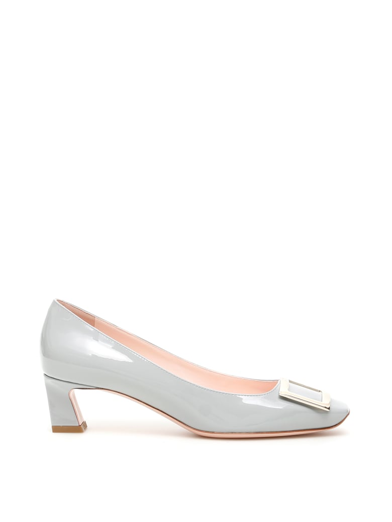 Roger Vivier Trompette 45 Pumps - CELESTE POLVERE (Light blue)