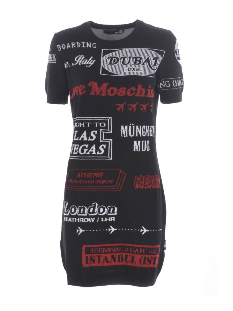Love Moschino Dress - Nero