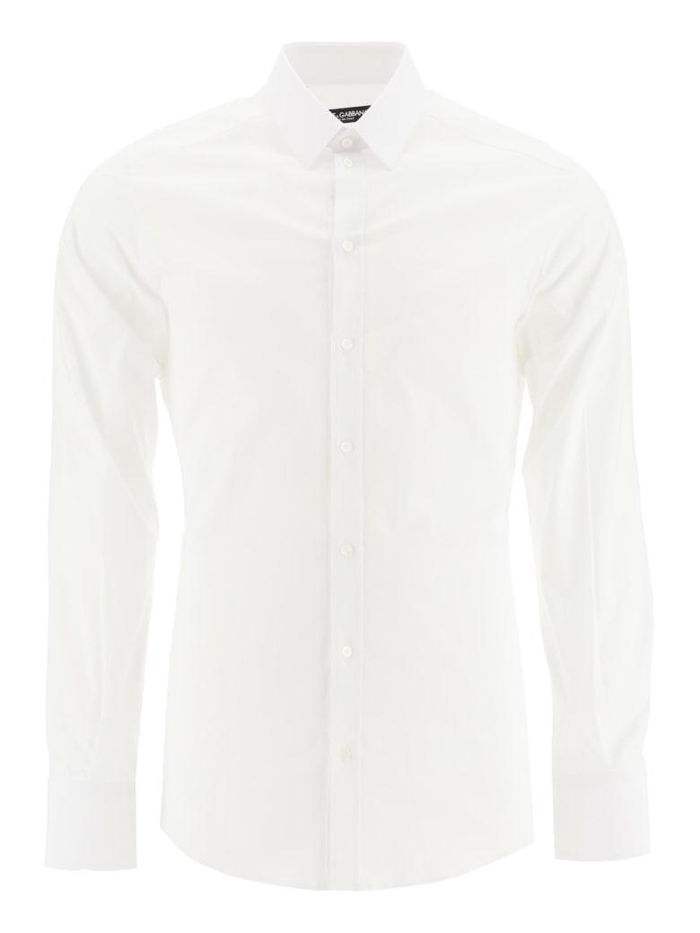 Dolce & Gabbana Gold Fit Shirt - BIANCO OTTICO (White)