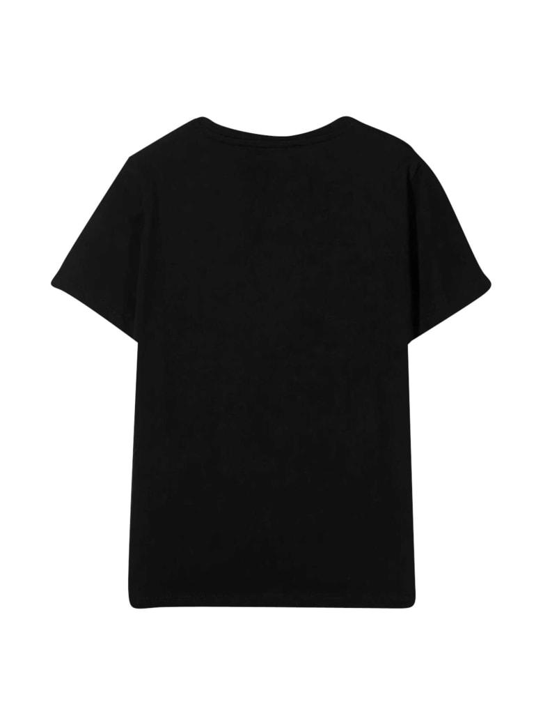 Young Versace Black T-shirt - Nero/Oro