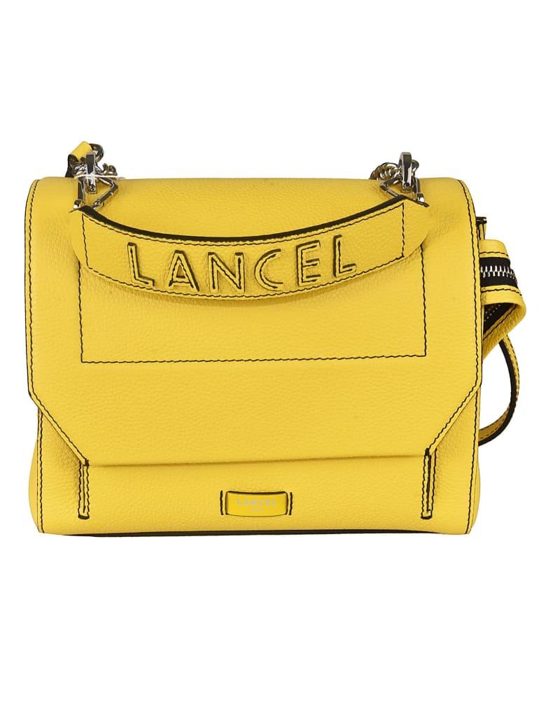 Lancel Logo Shoulder Bag - Yellow