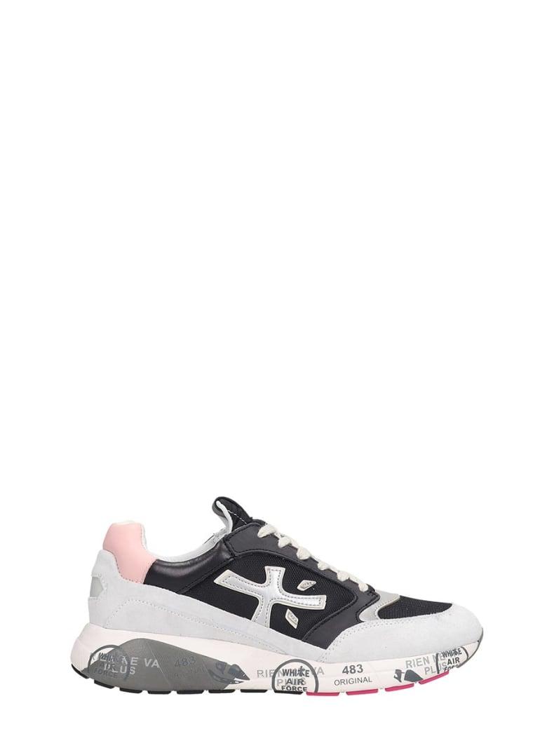Premiata Zac Zac Sneakers In Black Tech/synthetic - black