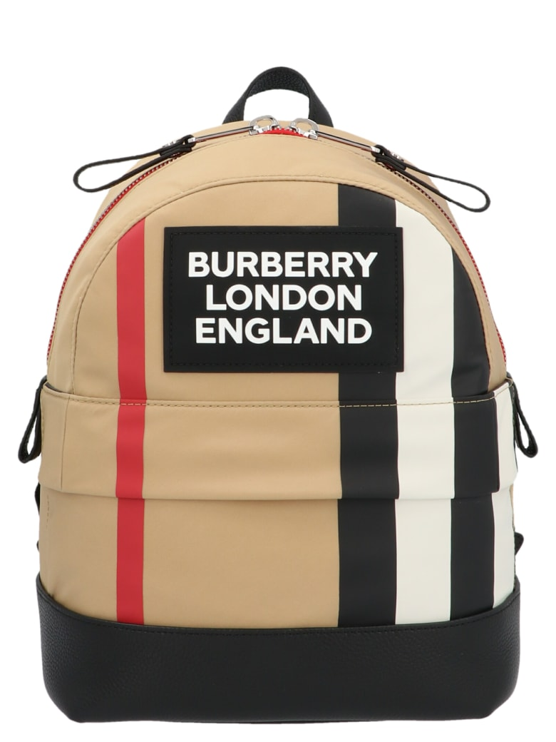 Burberry 'nico Check' Bag - Multicolor