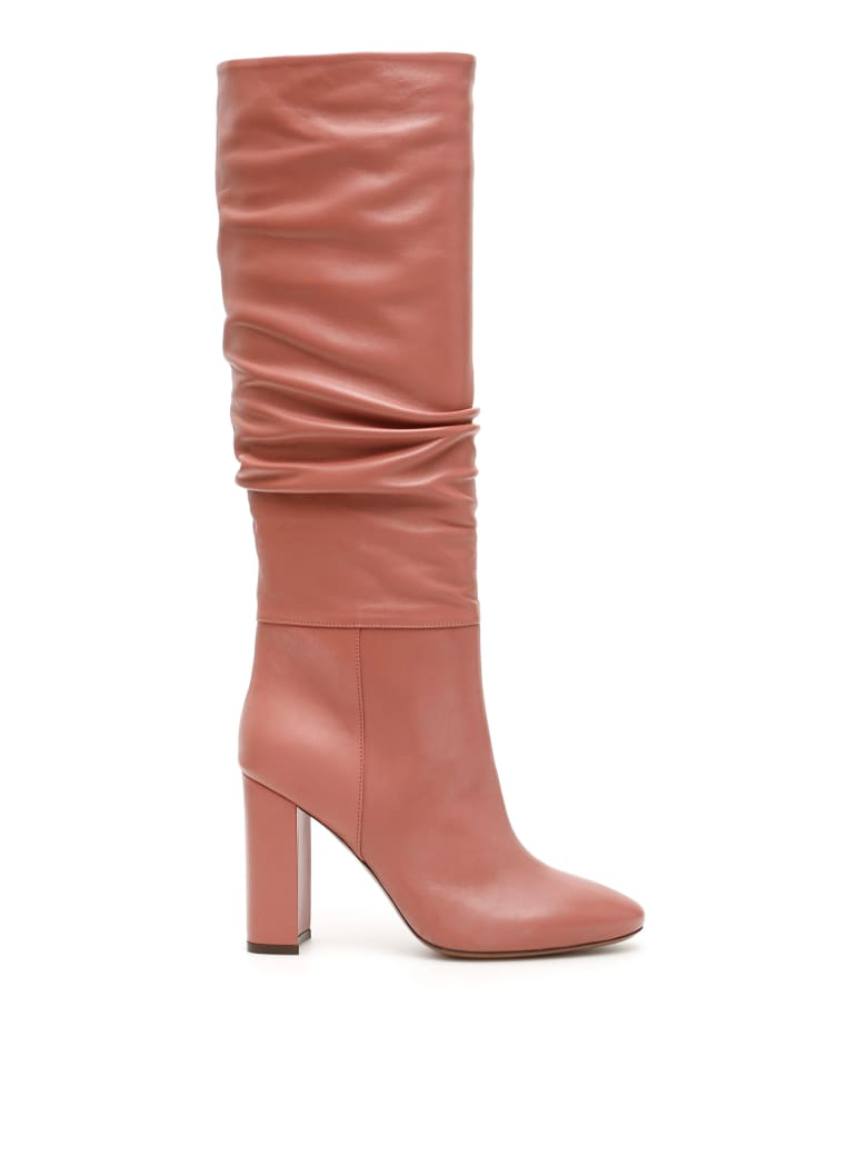 L'Autre Chose Nappa Boots - ANTIQUE ROSE (Pink)
