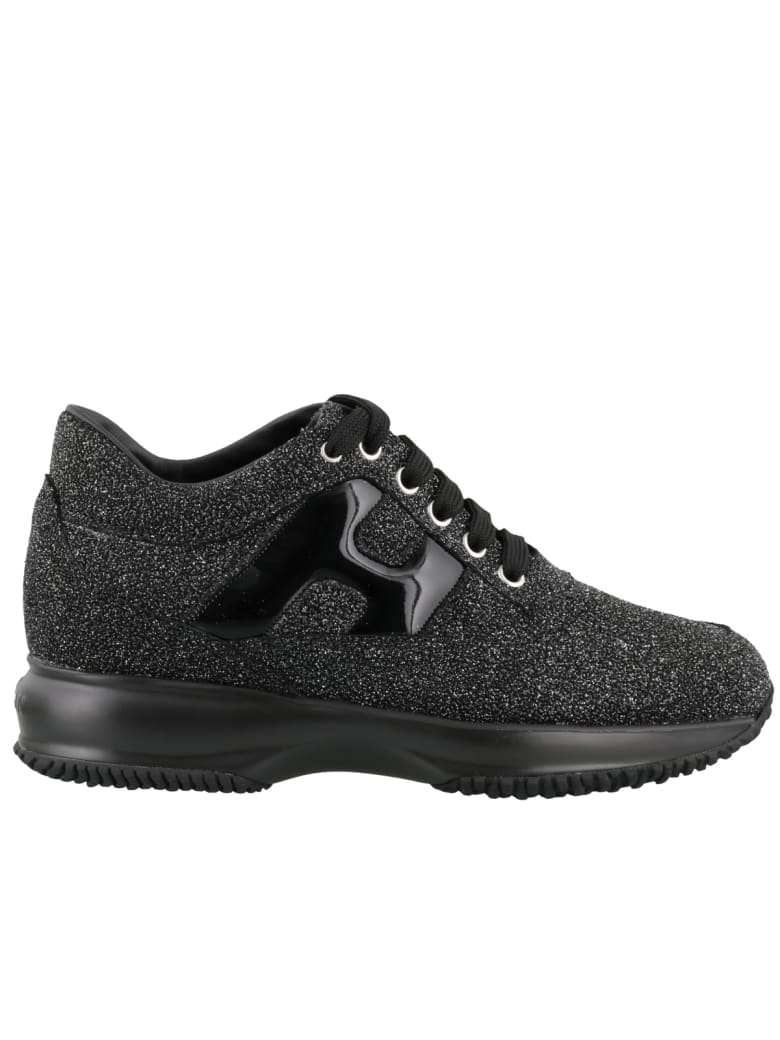 Hogan Interactive Sneakers - Black