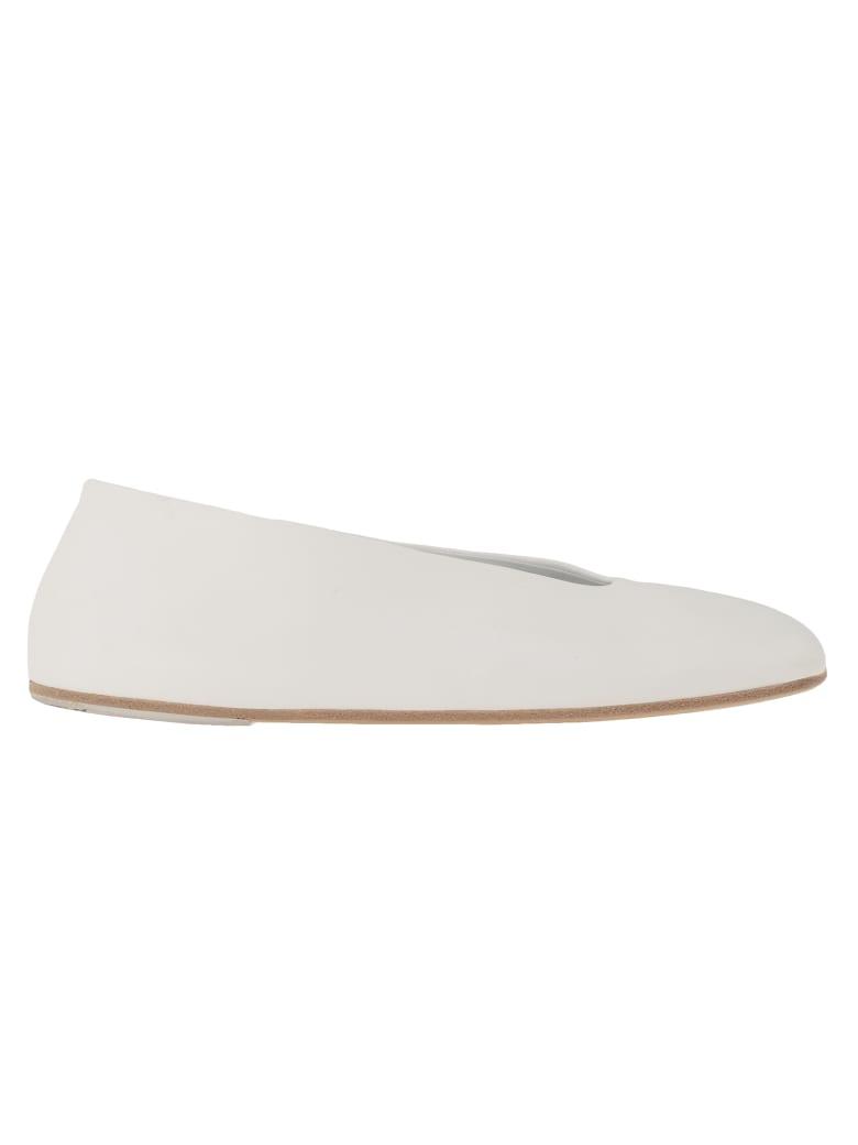 Marsell Spatolona Ballet Flat - WHITE