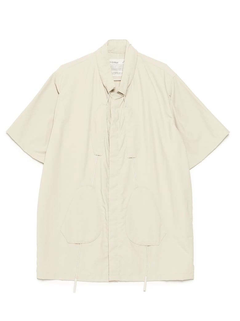 A-COLD-WALL 'drawcord 3d Patch' Shirt - Beige