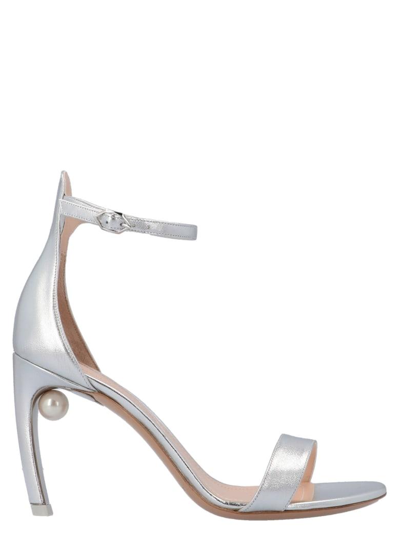 Nicholas Kirkwood 'mira Pearl' Shoes - Silver