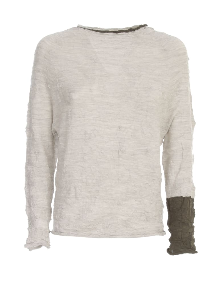 Y's Off N L/s Pullover - Off White