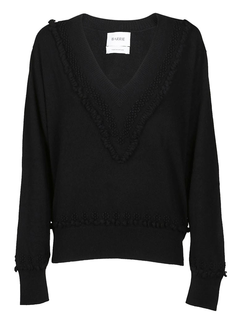 Barrie Romantic Timeless Pullover - Black