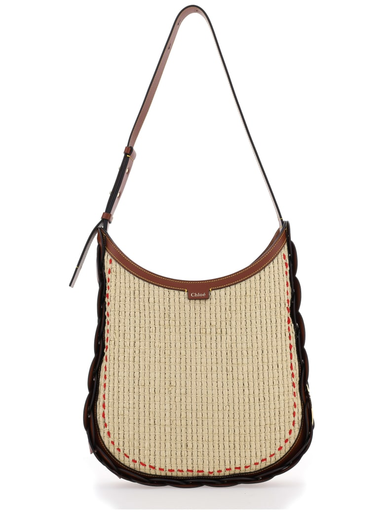 Chloé Small Darryl Shoulder Bag - Sepia Brown