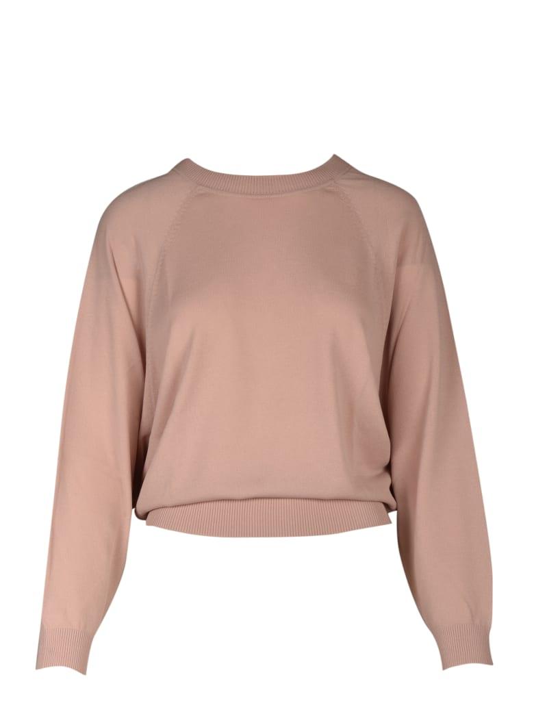 Parosh Sweater - Pink & Purple