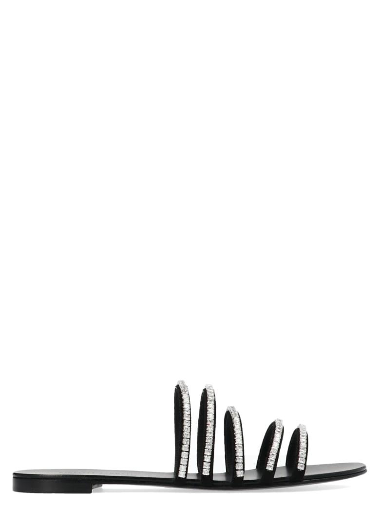 Giuseppe Zanotti 'roll' Shoes - Black
