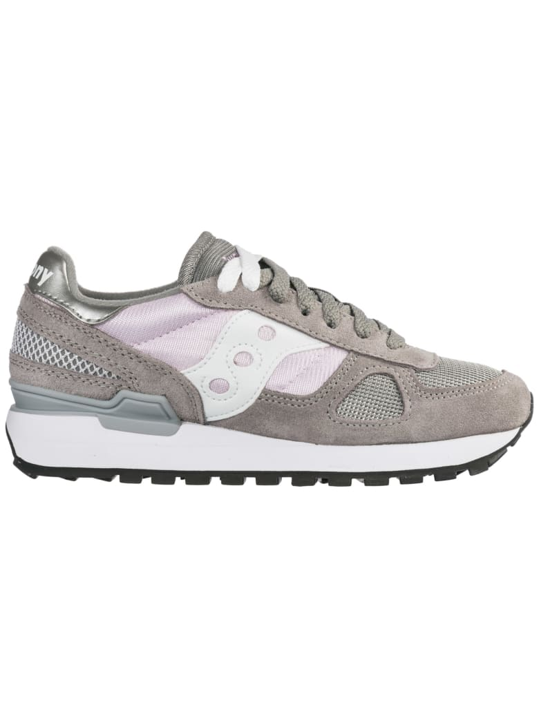 Saucony  Shoes Suede Trainers Sneakers Shadow O - Grigio