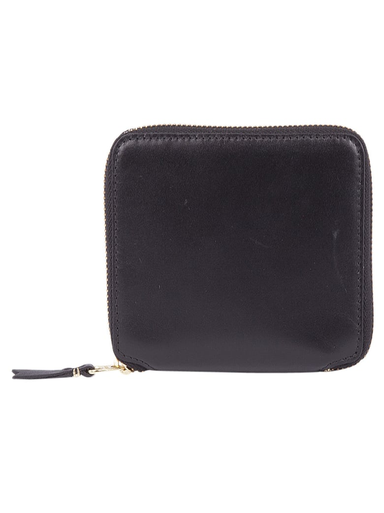 Comme des Garçons Wallet Small Zip Around Wallet - Black
