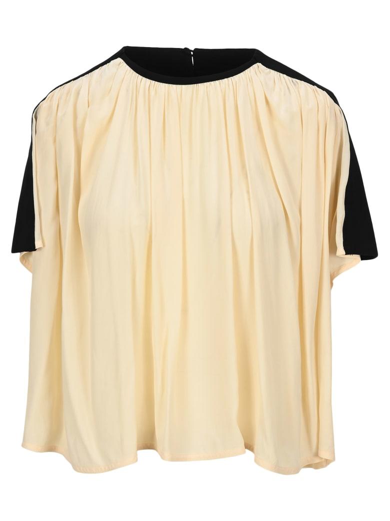 Proenza Schouler Draped Boxy T-shirt - ECRU
