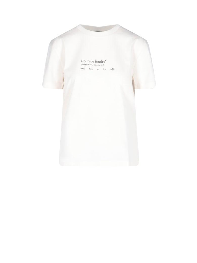 Patou Short Sleeve T-Shirt - White