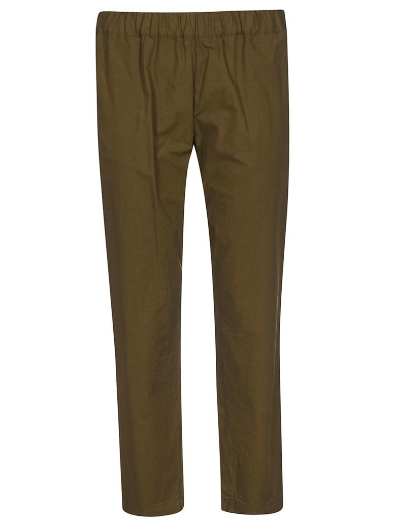 Erika Cavallini Elasticated Waist Trousers - Brown
